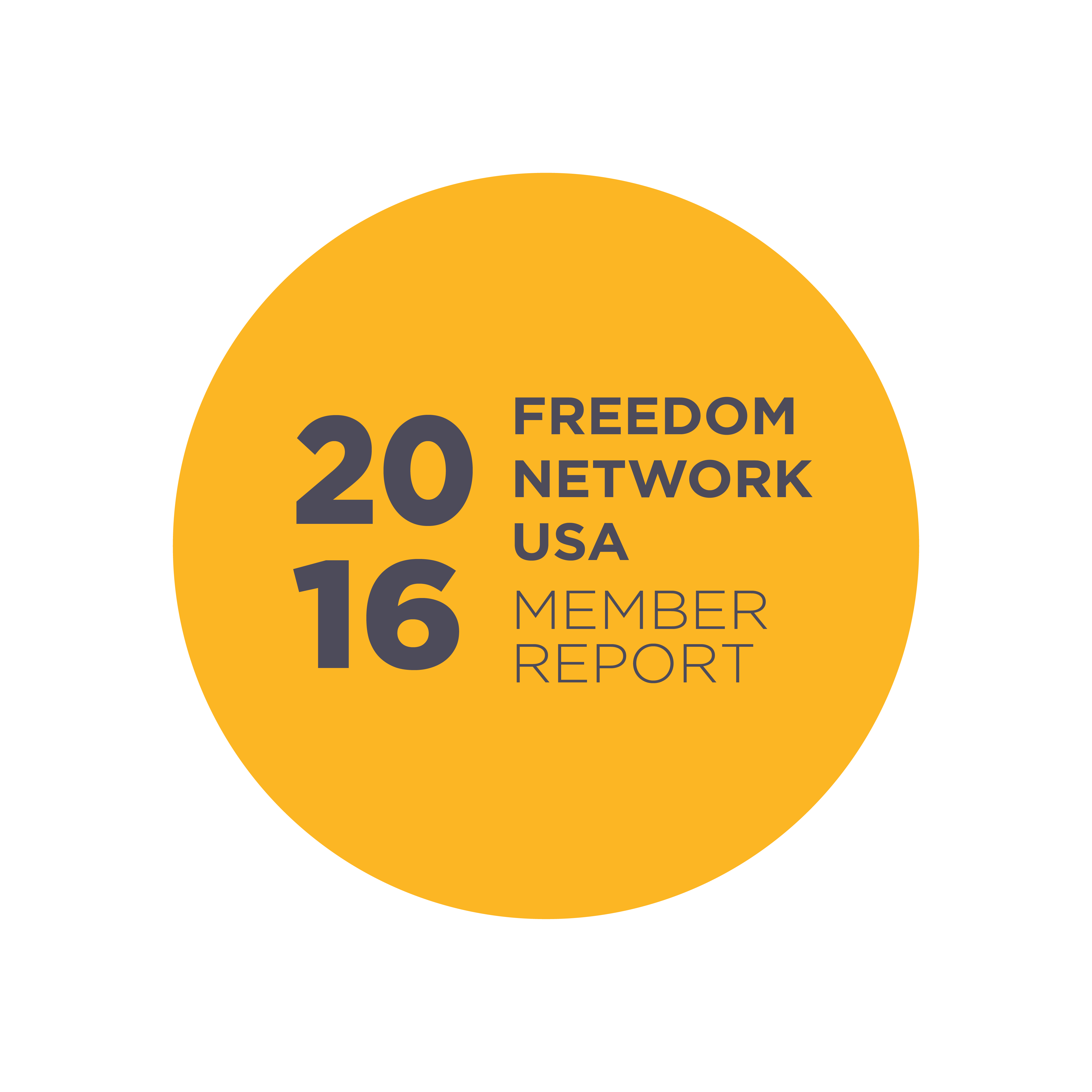 2016 freedom network usa member report